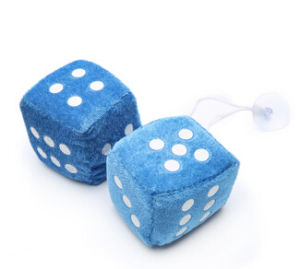 Colorful Dice Mirror Hanging Car Freshener pictures & photos