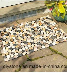 Black Anti-Fatigue Pebble Stone Mat Besopke Door Mat pictures & photos