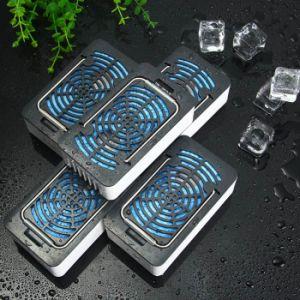 1400mAh Mini Handheld Portable Bladeless Wet Sponge USB Rechargeable Desk Fan pictures & photos