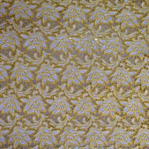 Advanced Machines Fancy Cheap Yellow Lace Fabric pictures & photos