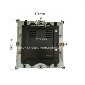 640*640mm Die Cast P6 Outdoor SMD Rental LED Display pictures & photos