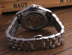 Stainless Steel Machine Custom Brief Fashion Watch pictures & photos