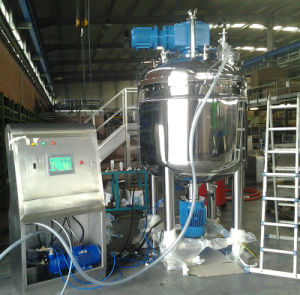 2017 Cosmetics Vacuum Homogenizer Mixer with Heating and Cooling pictures & photos