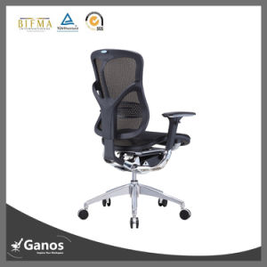 New Executive Mesh Ergonomic Black Leather Office Chair pictures & photos