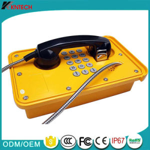Weather Proof Knsp-09 Heavy Duty Telephone for Industrial Coal Mine pictures & photos
