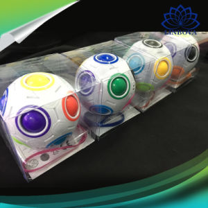 Spherical Magic Cube Toy Novelty Toys Football Puzzle Rainbow Learning and Educational Toys for Children Adults pictures & photos