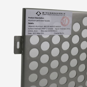 High Quality Round Hole Perforated Aluminum Made in China pictures & photos