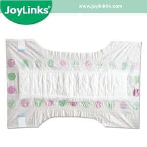 PE Backsheet Diaper of Baby with Colorful Package pictures & photos