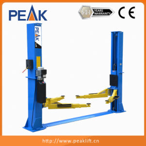 CE Approval Twin Post Planer-Type Truck Lift for Sale (212) pictures & photos