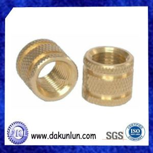 Precision Lathe Machining Brass Knurled Nuts pictures & photos
