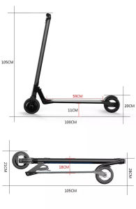 Factory Supply 6.5 Inch Aluminum Alloy Folding Electric Kick Scooter pictures & photos