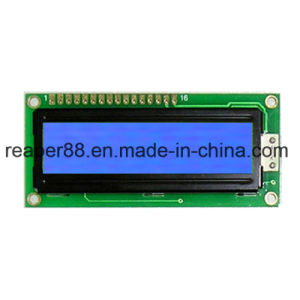 Stn Transflective/Positive/Yellow-Green 1601 Character LCD Module pictures & photos
