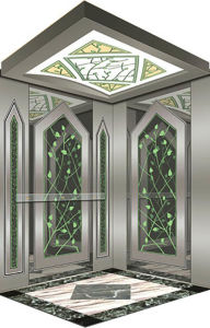 Passenger Elevator with Stainless Steel Framwork pictures & photos