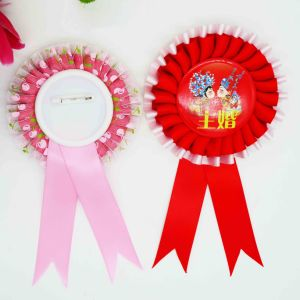 Red Color Promotion Brooch Badge pictures & photos