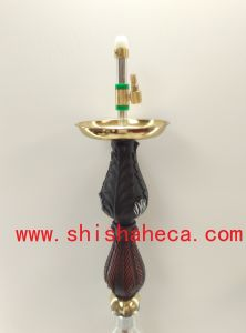 High Quality Smoking Pipe Zinc Alloy Hookah with Vaporizer Hookah Shisha pictures & photos