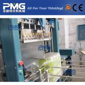 China Bottle Shrink Wrap PVC Tape Packing Machine for Heat Shrink Sleeve pictures & photos