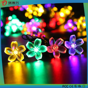 Multicolor Lotus 10m 100 LED Fairy String Lights for Wedding/Christmas/Festivals pictures & photos