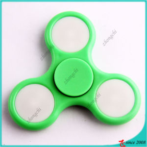 2017 Most Popular ABS LED Light Fidget Spinner Toy Gift Relieve Stress Hand Spinner pictures & photos