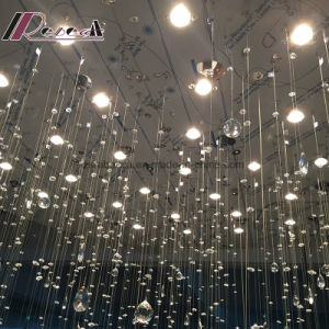 Customized Project Lamps crystal Triangle Strip Circle Lighting Chandelier pictures & photos