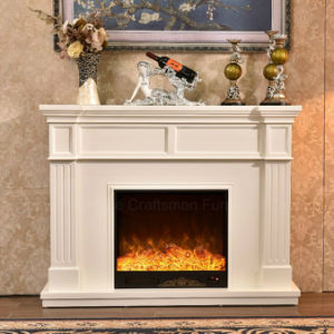 Modern Furniture Heater LED Lights Ce Approved Electric Fireplace (343B) pictures & photos