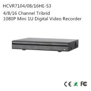 4/8/16 Channel Tribrid 1080P Mini 1u Digital Video Recorder {Hcvr7104/08/16he-S3} pictures & photos
