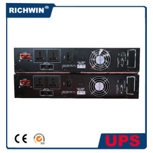 1kVA~6kVA Pure Sine Wave Online UPS Rack Mount Style for Server pictures & photos