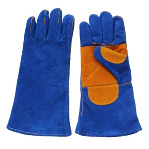 Double Palm Leather Welders Working Safety Gloves pictures & photos