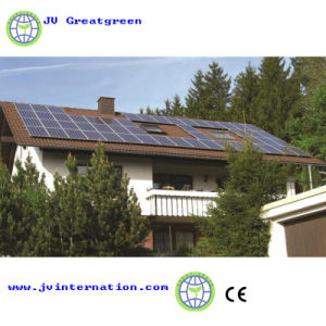 Family Use on-Grid Solar Powe System pictures & photos