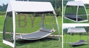 Leisure Outdoor Hammock Style Canopy Swing with Mosquito Net pictures & photos