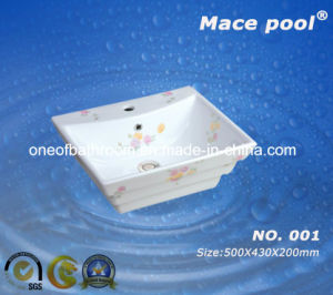 Bathroom Sanitary Ware Art Basin Ceramic Sink (001-1) pictures & photos
