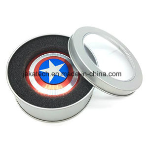 Captain America Shield Hand Fidget Spinner Tri Spinner Hand Toy pictures & photos