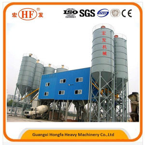 Hzs50 Cubic Concrete Batching Plant with Price pictures & photos