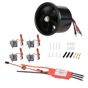 1061022-70mm Edf 3200kv Motor & 4PCS 9g Servo & 60A Brushless ESC Power Combo Set for Fixed-Wing, of Wingspa RC Airplane pictures & photos