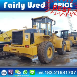 Used Cat 966h Front Loader with Log Fork for Sale