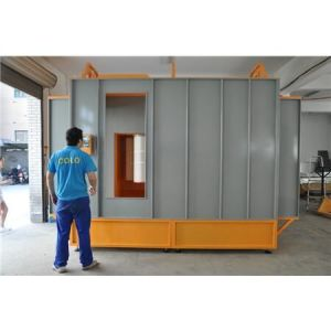 Tunnel Spray Booth for Powder Coating pictures & photos