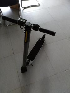 up Grade Electric Balance Scooter with Handrail and Foldable Features pictures & photos