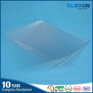 Olsoon High Quality 1-12mm Thickness Extruded Transparent Acrylic Plastic Sheet PMMA Sheet pictures & photos