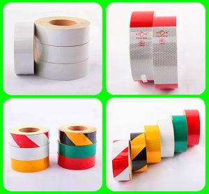 Warning Pressure Sensitive Type Retro PVC Reflective Tape