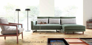 Living Room L Shape Sofa Fabric Sofa Ms1501 pictures & photos