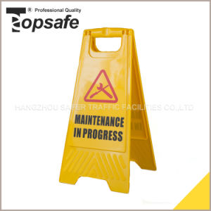Wet Floor Plastic Caution Board (S-1631) pictures & photos