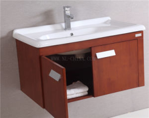 N&L American Style Solid Oak Wood Bathroom pictures & photos