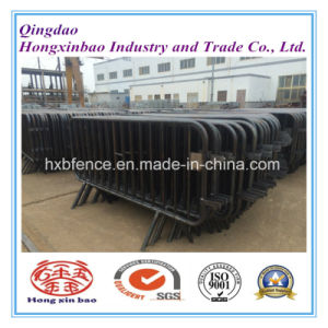 Cross Feet Crowd Control Traffic Barriers Galvanized Temporary Fence pictures & photos