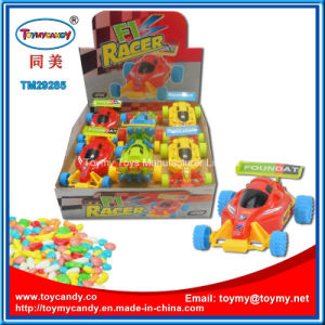 Best Selling Small F1 Racing Car Toy with Candy