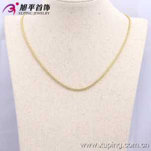 42504 High Quality 14 K Gold Round Snake Chain 2mm Width Necklace pictures & photos