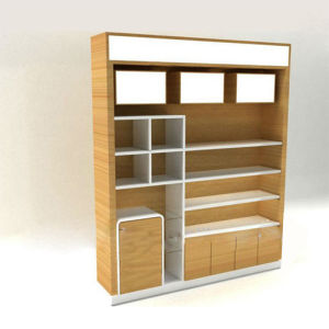 High Quality Wooden Acrylic Makeup Cosmetic Display Stand pictures & photos
