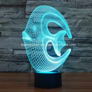 Creative Amazing 3D Optical Illusion Acrylic LED Night Light pictures & photos