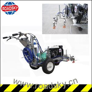 High Quality Safety Hand-Push Cold Road Marking Machine pictures & photos