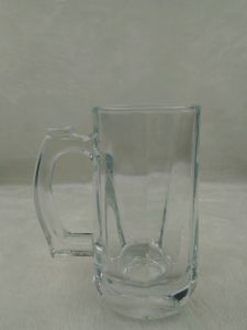 330ml Water Glass Cup with Handle pictures & photos