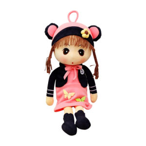 Custom Plush Doll Stuffed Plush Baby Girl Doll Toys pictures & photos