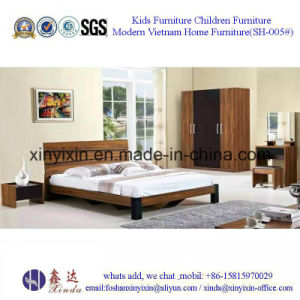 Luxury PU Leather King Size Bed Hotel Bedroom Furniture (705A#) pictures & photos